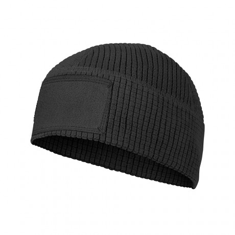 Шапка Helikon Beanie - Grid Fleece Black