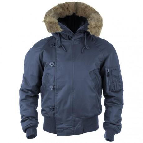 Куртка зимняя Mil-Tec N2B Аляска Navy Blue