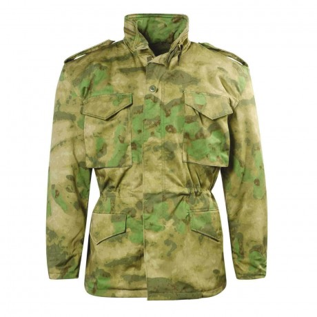 Куртка Mil-tec M65 Atacs FG