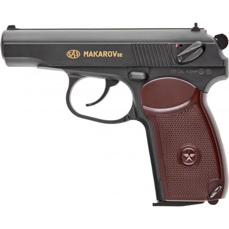 Пистолет пневматический Макаров SAS SE 4.5 мм
