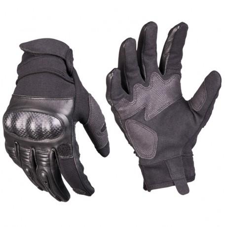 Перчатки Mil-tec с костяшками и откидным пальцем