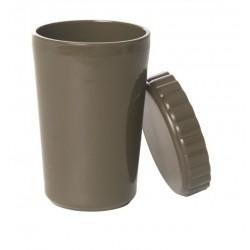 Чашка US CAMP пластиковая с крышкой