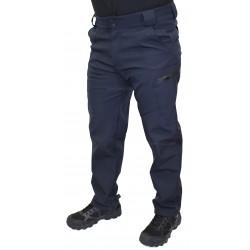 Брюки SoftShell Outdoor Navy Blue утепленные с флисовой подкладкой