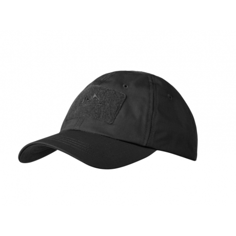 Бейсболка Helikon Polycotton Ripstop Black