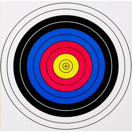 Мишень маленькая (20x20) - 10 шт