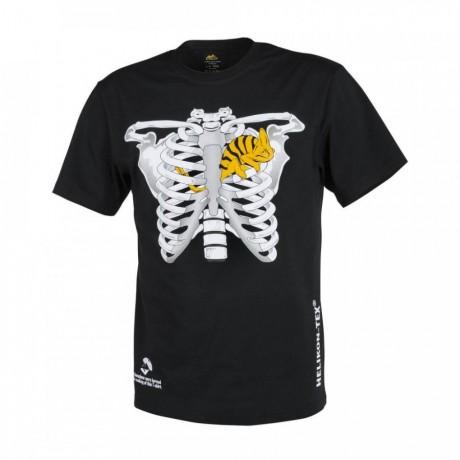 футболка T-shirt Helikon Kameleon w klatce piersiowej