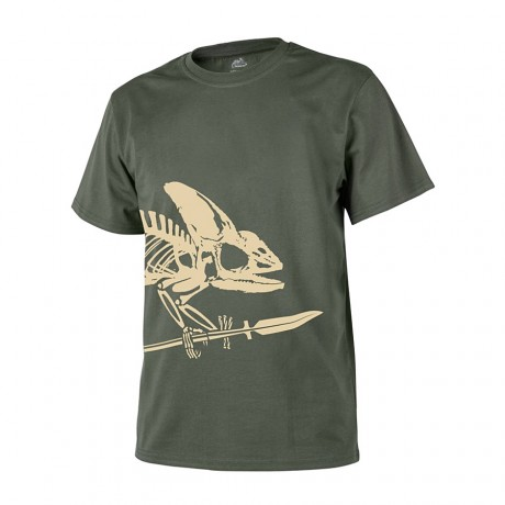 Футболка Helikon Full Body Skeleton Olive