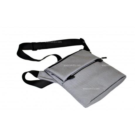 Плечевая сумка Стрелок СП-5 светло-серая