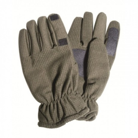 Перчатки Mil-tec WAFFLE олива с откидным пальцем