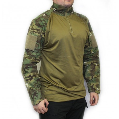 Рубашка Mil-tec Warrior Shirt Woodland Arid
