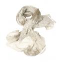 Сетка-шарф маскировочная Mil-tec белая