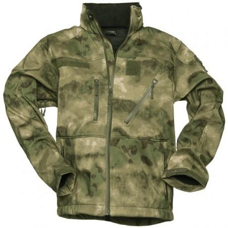 Куртка Mil-tec SCU Softshell A-Tacs FG
