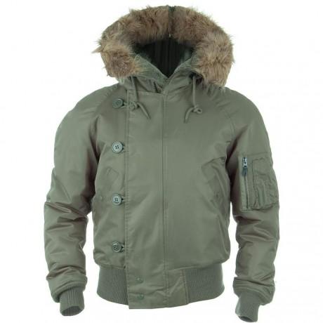 Куртка зимняя Mil-Tec N2B Аляска Olive