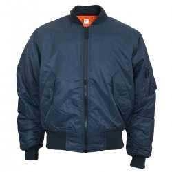 Куртка Mil-Tec бомбер MA1 Navy Blue