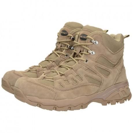 Ботинки Mil-Tec Trooper Squad 5 Coyote