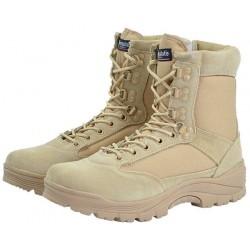 Ботинки Mil-tec с молнией YKK Khaki