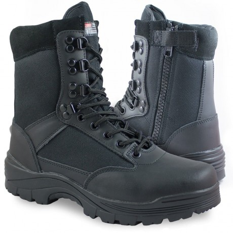 Ботинки Mil-tec с молнией YKK Black
