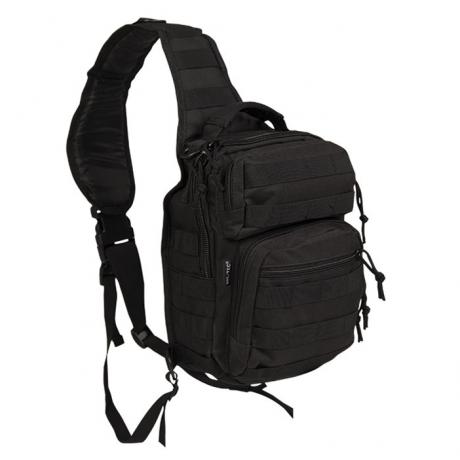 Сумка однолямочная Mil-Tec Assault Pack Small 8L Black