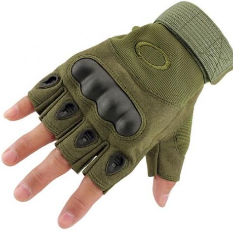 Перчатки тактические Oakley Olive беспалые
