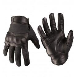 Перчатки Mil-tec кожа/кевлар