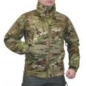 Куртка демисезонная Helikon SoftShell Gunfighter Multicam с мембраной