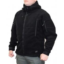 Куртка флисовая Helikon Patriot Double Fleece Black