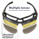 Очки тактические Daisy X7 4 линзы