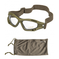 Очки тактические Mil-tec Commando Air Pro Clear Olive
