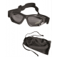 Очки тактические Mil-tec Commando Air Pro Clear Black