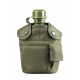 Фляга Mil-Tec US Type Olive в чехле и с подстаканником